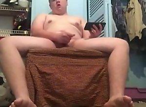 Full naked body shot cum
