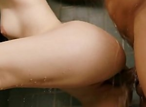 Interracial fucking with Karly Baker