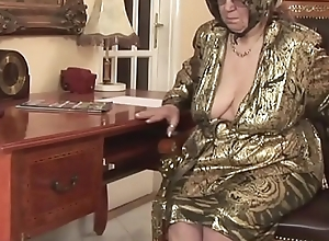 Horny granny gets sexual atonement