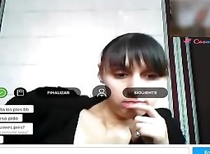 Arms Chat Webcam, Pies en webcam