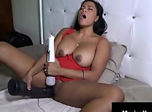 Crazy Cambodian Cougar Maxine X Does 24 Inch..