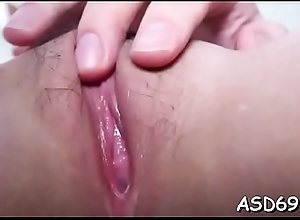 Sexy asian sweetheart favors their way lady's..