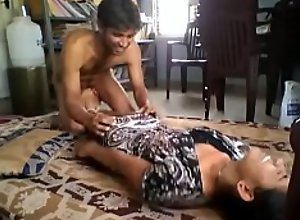 Cute indian girlfriend licked and fucked