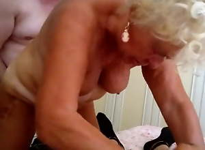 granny anal threesome