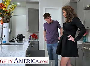 Naughty America, Cougar has a college boy take..