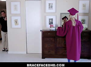 Blonde Teen Step Sister With Braces Fucked By..