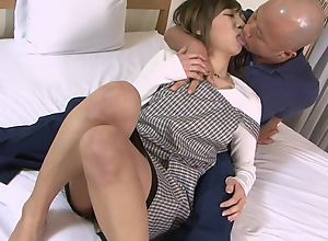Asian housewife gets properly fucked by her..