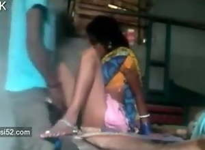 Telugu aunty has sex in front of son