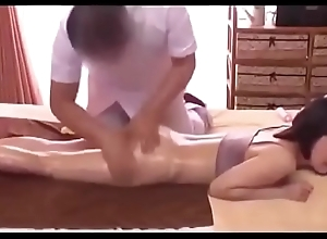 Hot Massage overwrought Kick off b lure with reference to Female