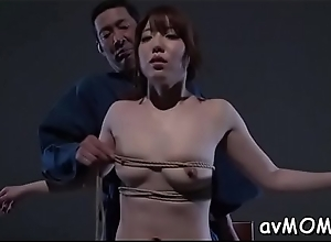 Sexy milf gets on knees in all directions swell..