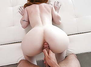 Tits So Perfect You'd Cum In This Redheads Pussy..