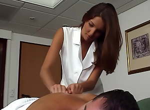 Anal with Hungarian masseuse Patricia Major,..
