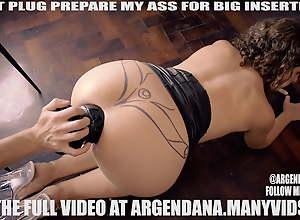 EXTREME BUTT PLUG ANAL INSERTION