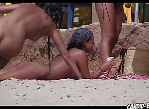 Super Hot tanned Naked Latinas Spied at the nude..