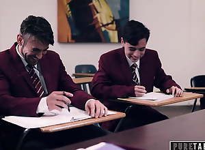 PURE TABOO, Four Students Get Teacher Into..