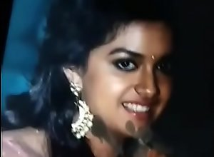 Keerthi suresh cum tribute moaning with the..