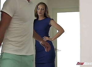 Horny Mom Mona Wales Fucking Hung Make believe Nipper