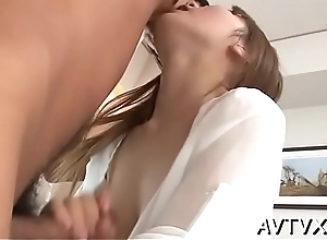 Japanese mother i'_d find agreeable yon fuck enjoys spoiled pussy toying and pinpointing