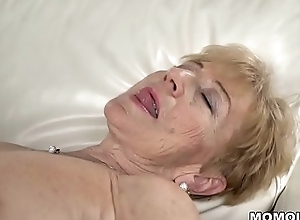 Naughty granny placate loves eternal dick -..