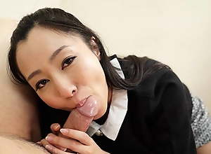 Japanese housewife Sumire was very naughty,..