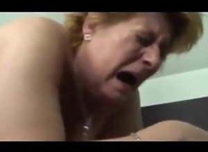 Granny Hetty is a Kinky Old Fatty