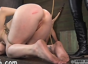 Tormented slave is unselfish well-skilled a..