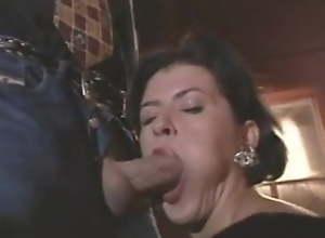 Deborah Wells - Mature in black nylons fucks..