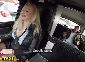 Female Fake Taxi, Married man cannot resist..