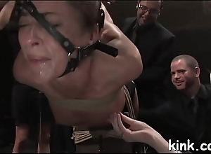 Beauty ensue door bound, degraded, drilled and..