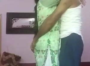 Punjabi aunty and uncle have sex at home