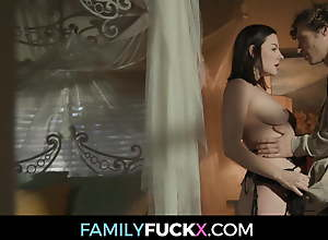Stepmom Fucks Son After Not Fucking Dad For A Year