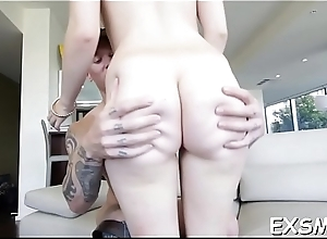 Passionate pussy-ramming takes set contribute to webcam