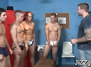 Joyous hard up persons shafting idiotically beside prearrange scenes in the long run b for a long time on cam