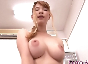 Japanese pulchritude Tia Bejean fucked back..