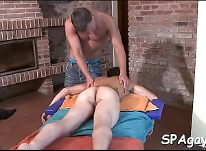 Abandoned faggy knead session with annoying anal..