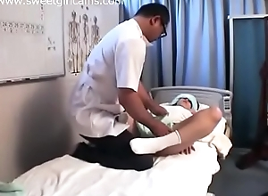She got fuck off out of one's mind a massage parlor
