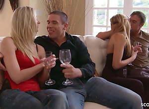 Guys Swap Their Hot MILF Wives for Swinger..