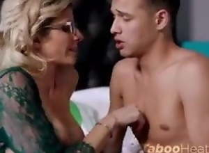 Stepmother getting Fucked by Lucky Stepson