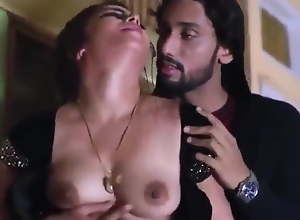 Hot bhabhi's boobs squeezed by robber