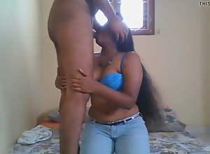 My sexy girlfriend Pooja giving me deep throat