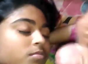 Desi lovers, blowjob and fingering