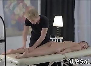 Real massage porn