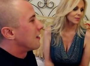 Julia Ann Takes Young Guy To Bed