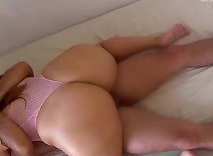 Perfect Big Ass Got Oiled Up And A Cumshot In..