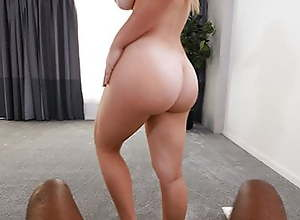 Amazing Ass On This PAWG, Watch Her Fuck To Get..