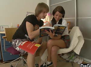 Schoolgirl Martina Prefers Anal To Homework