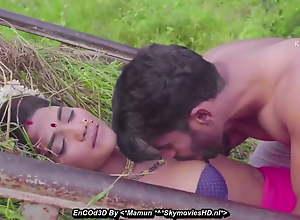 Desi village sarpanch wife fucked in crop fields..