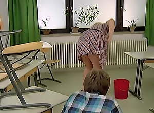 Horny School Tales - The Cleaning Lady