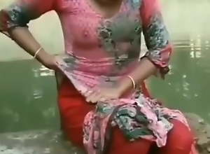 Desi village girl's boobs