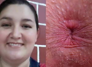 Face and Anus of a Hot Bitch From Colombia